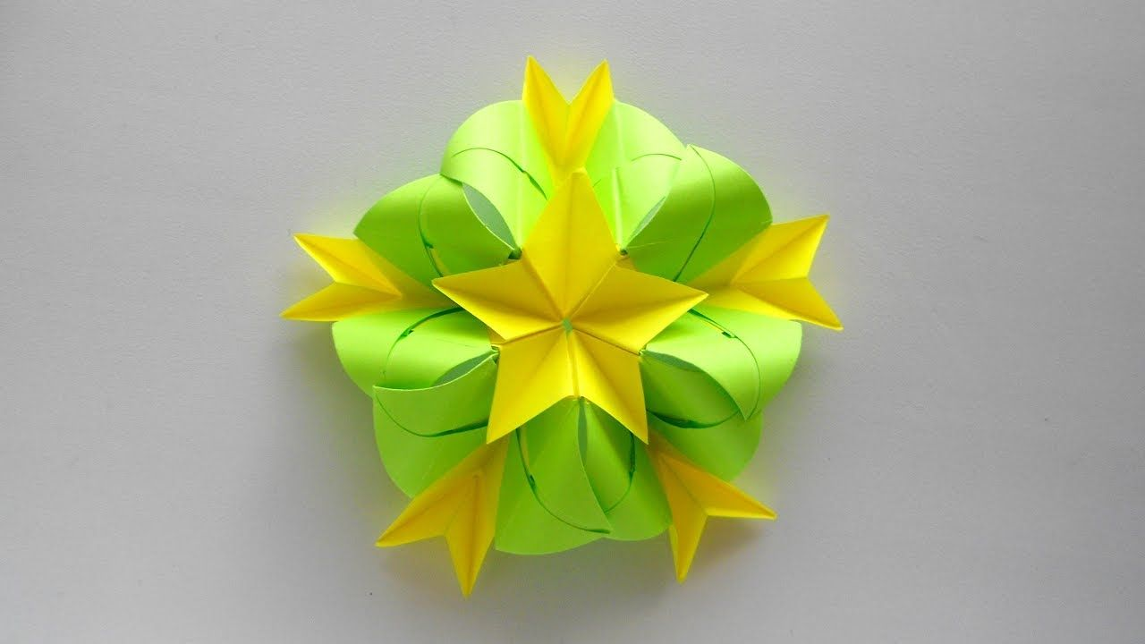 Origami Easy Origami Flower Tutorial Diy Paper Flower Origami