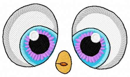 Penguin Eyes Free Embroidery Design Machine Embroidery Design Www