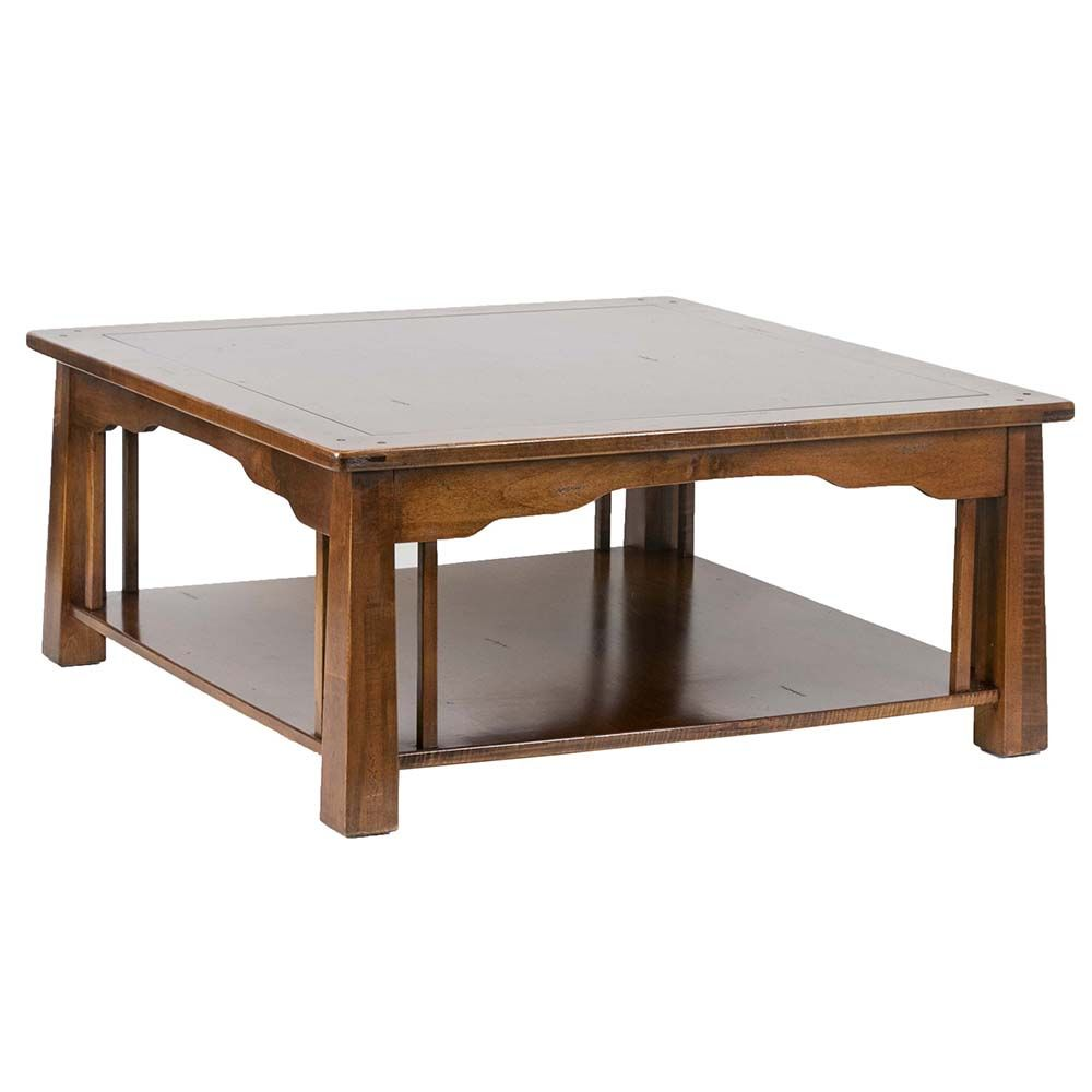 Arts And Crafts Style Coffee Table Is Made From Classic Cherry