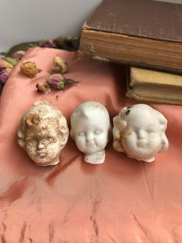 Antique Bisque Doll Parts