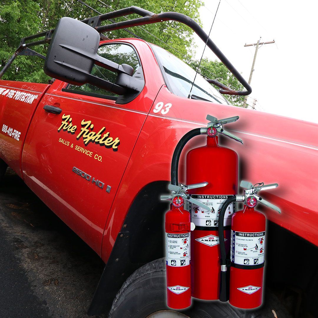 Portable Fire Extinguisher Service is just one of the many