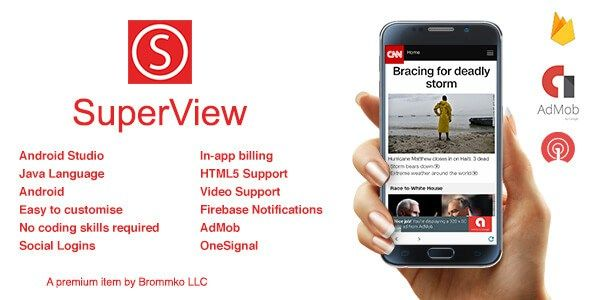 Download SuperView v2 0 2 | Codecanyon Premium WebView App