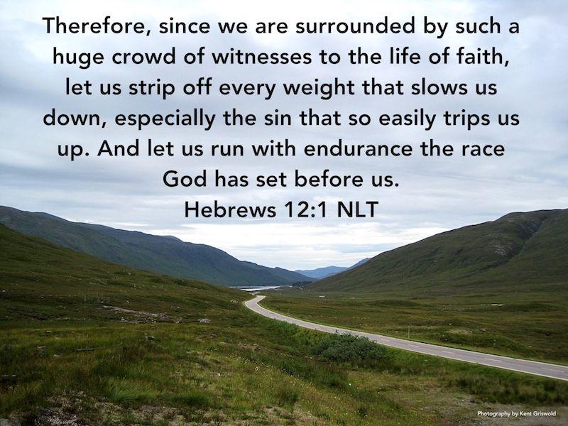 Sins - Hebrews 12:1