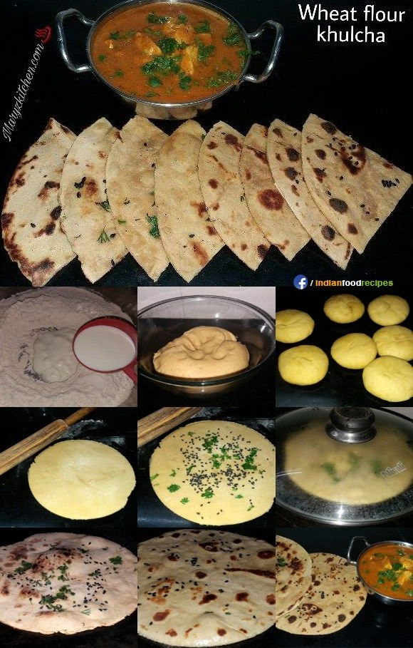 Wheat flour kulcha recipe step by step indian cooking pinterest wheat flour kulcha recipe step by step kulcha reciperoti recipeparatha recipesindian food forumfinder