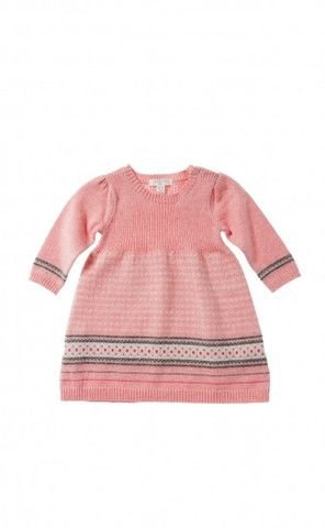 Pure Baby Aztec Fair isle knitted dress | Christmas Gift Ideas ...