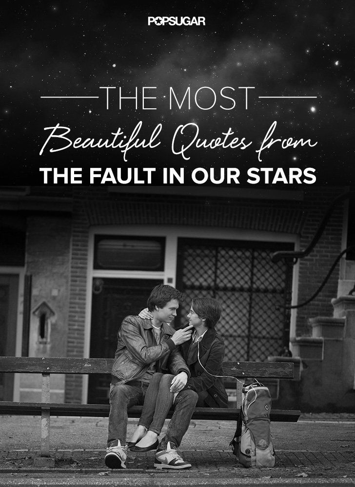 The Most Beautiful Quotes From The Fault in Our Stars ...