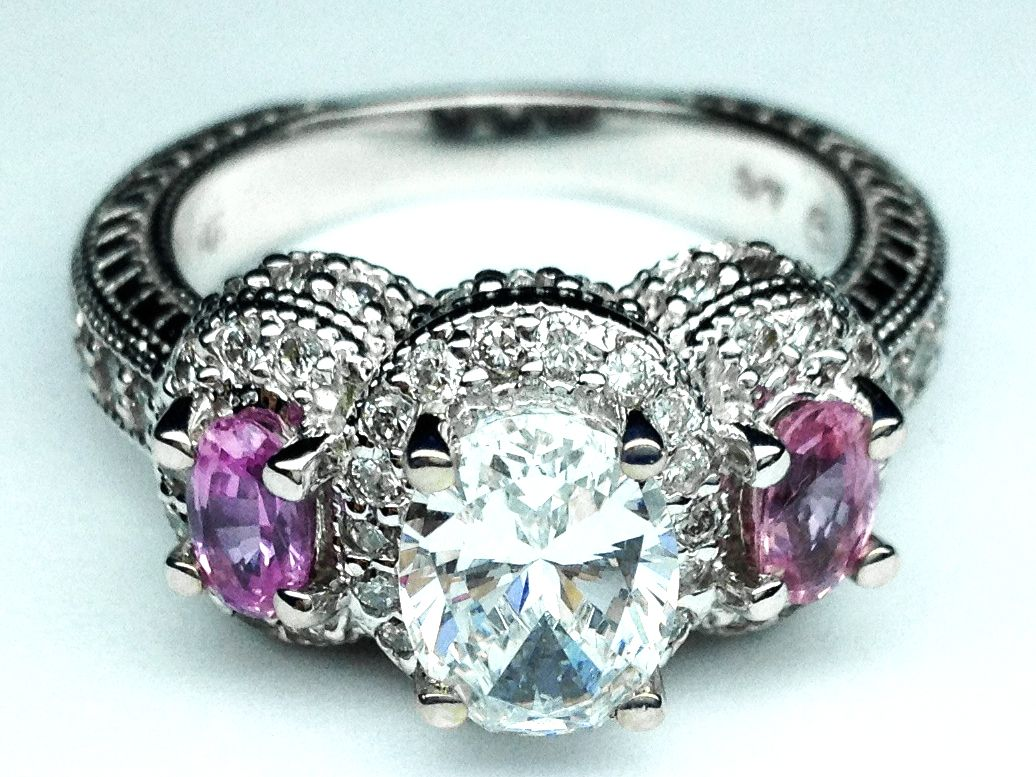 Rare Colored Diamond Engagement Rings