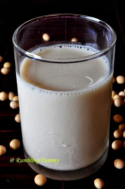 How to make soy milk thicker