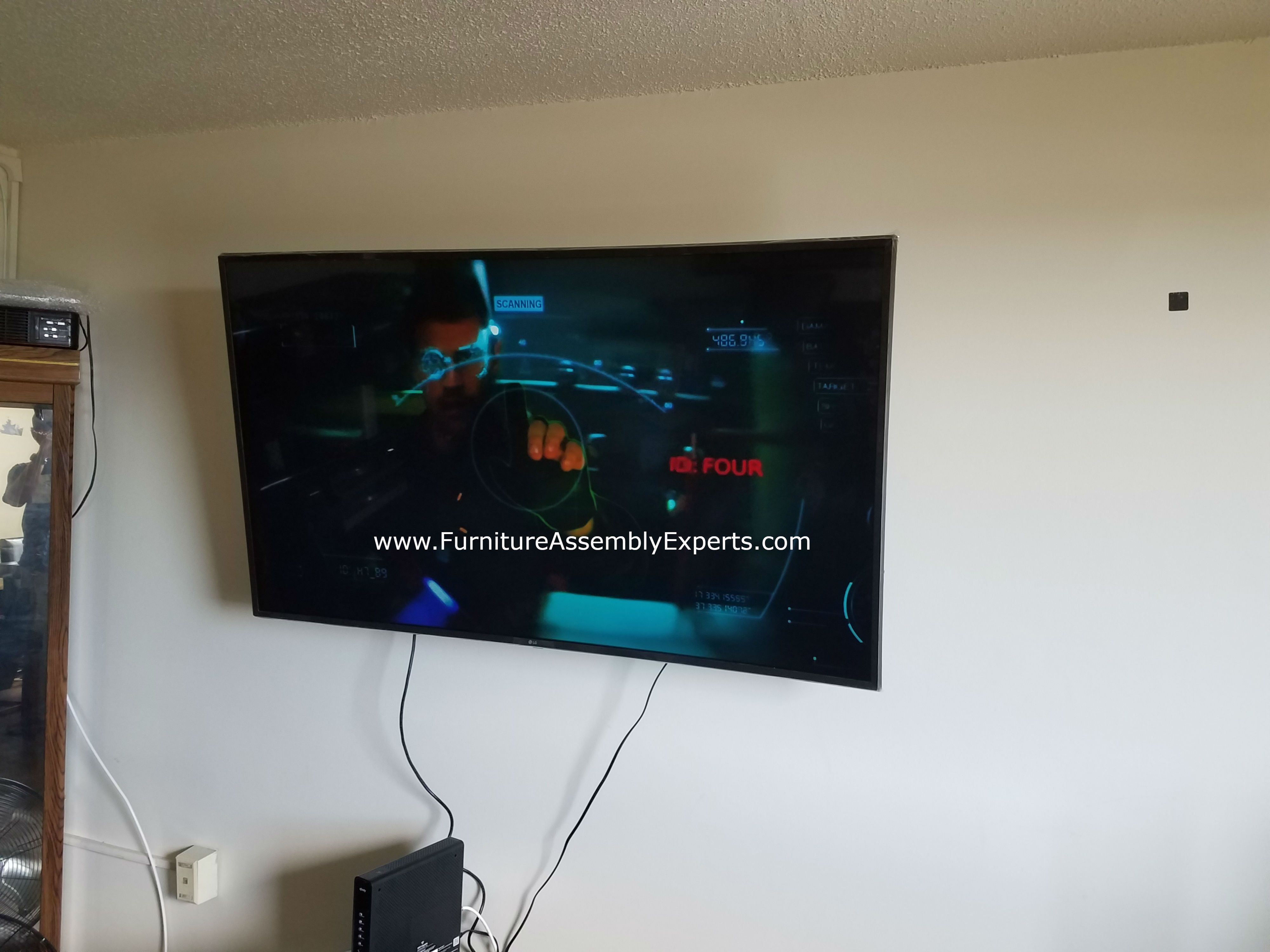 Tv Wall Installers In Annapolis Maryland By Furniture Assembly Experts Call 2407646143 Tv Wall Tv Wall Installation Wall Mounted Tv