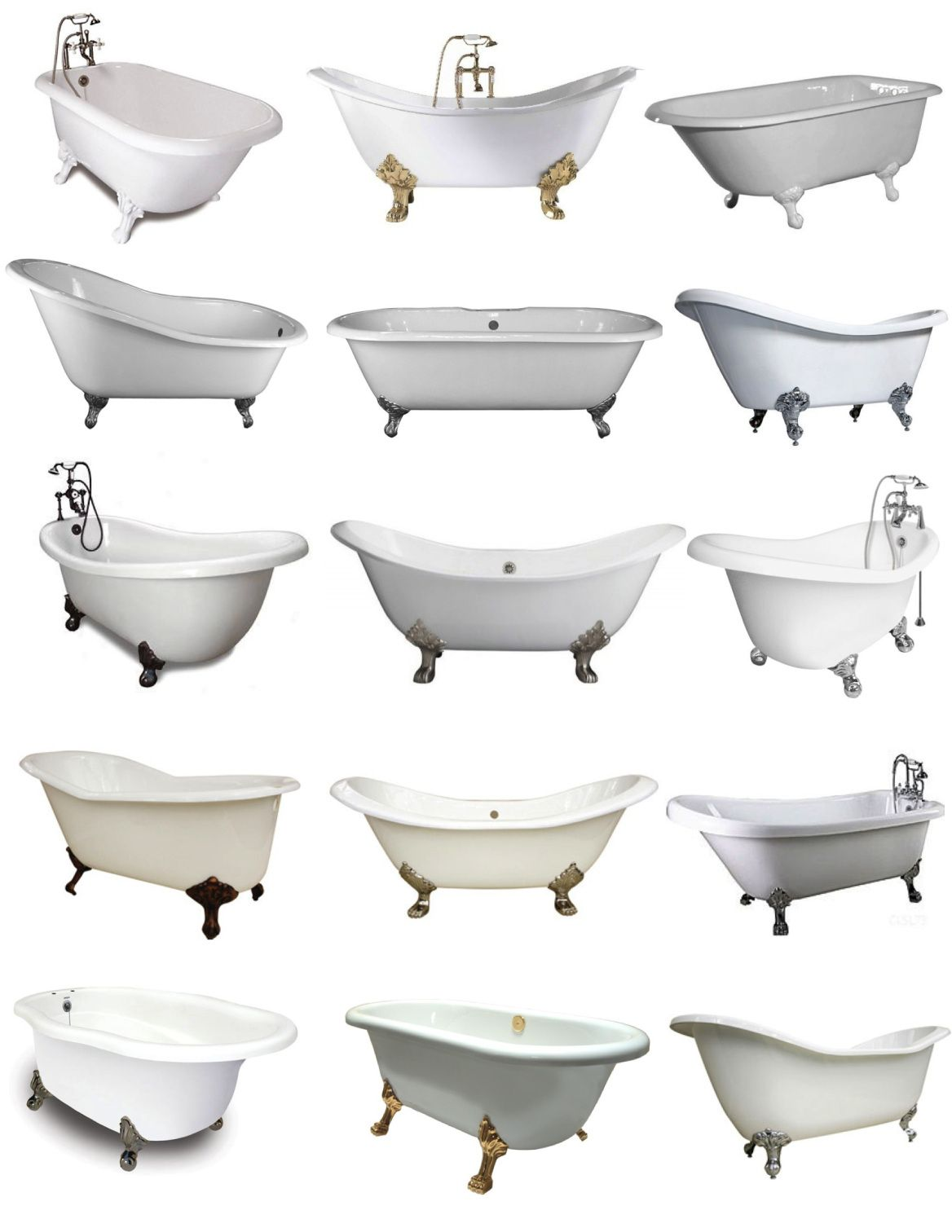 """Footed In Style: The """"Clawfoot"""" Tub 