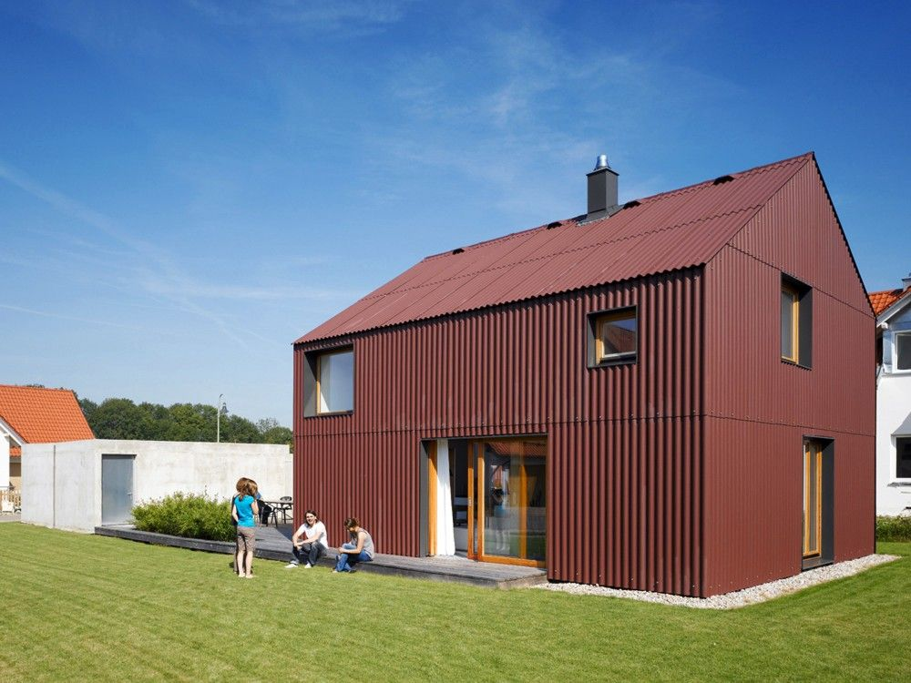 Gallery Of Haus Bru 1 25 Soho Architektur 5 House Cladding Architecture Shed Homes