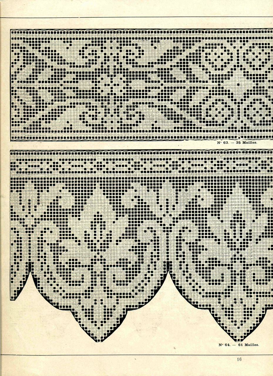Para ayudar a los tejedores - Motivos para patrones de gancho ...