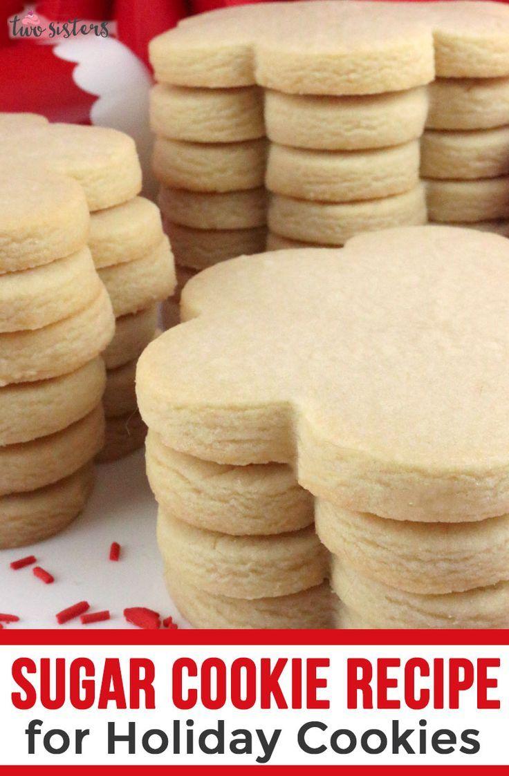 Best Easy Sugar Cookie Recipe