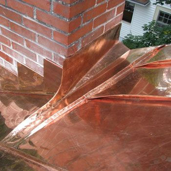 Copper Flashing Exterior Copper Roof Roof Flashing