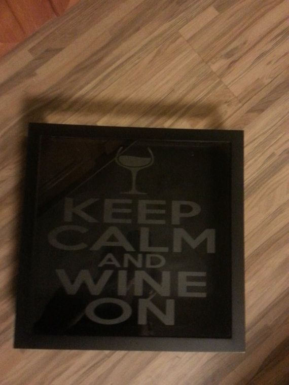 Cork Keeper Keep Calm And Wine On Drink Wine Wedding