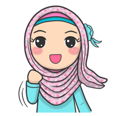 Photo of check out the Flower Hijab : Daily Talk sticker by Imran Ramadhan on chatsticker.com