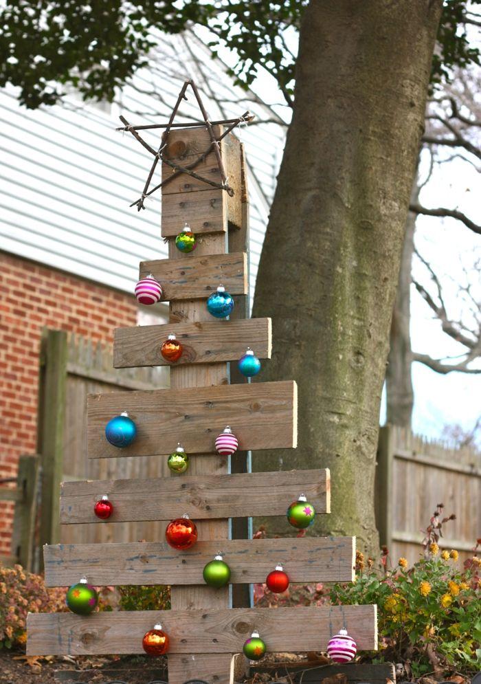 Künstlicher Tannenbaum Für Draußen.Weihnachtsdeko Für Draussen Macht Weihnachten Zu Einem Erlebnis