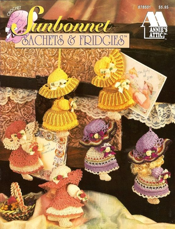 sunbonnet sue doll pattern free   x690 Crochet Pattern Only ...