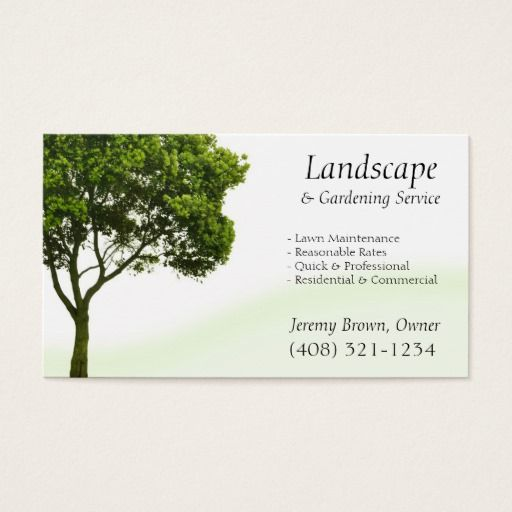 Tree or lawn care business card lawn care business lawn care and tree or lawn care business card colourmoves