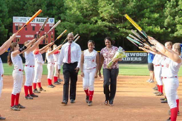 Riverwood High School Softball Team Senior Night School Softball High School Softball Senior Softball
