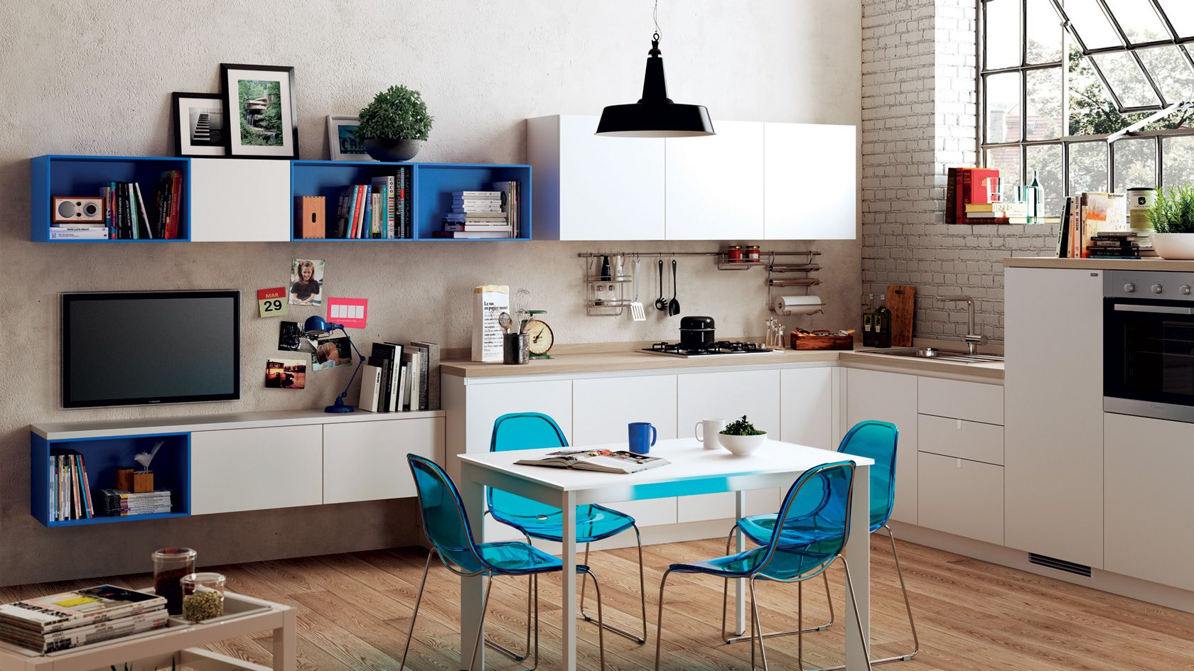 Cucina componibile Urban | Sito ufficiale Scavolini | Arredi ...
