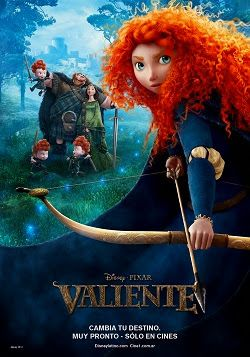 Brave Valiente Online Latino 2012 Peliculas Audio Latino Online Brave Movie Disney Movie Posters Disney Brave