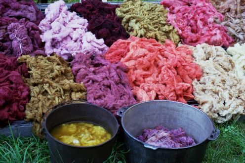 Natural dyes: their history and how to make them