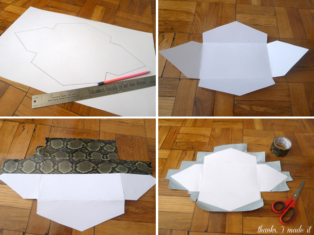 Perfectly simple diy clutch design do it yourself diy perfectly simple diy clutch design solutioingenieria Images