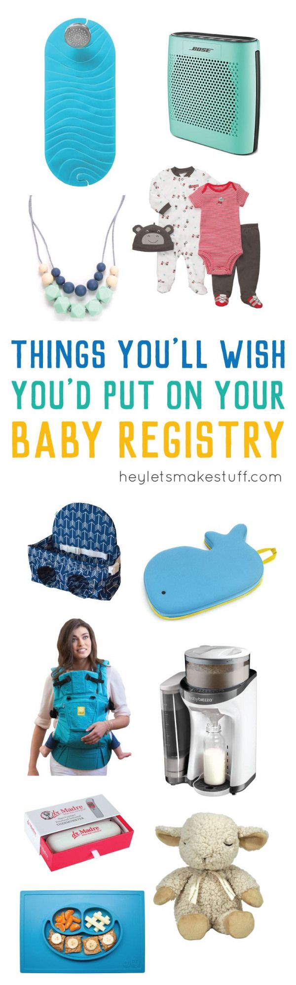 Don't miss putting these baby registry items on your list! These are often misse…