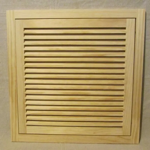 20x20 Wood Return Air Filter Grille in 2020 Air return