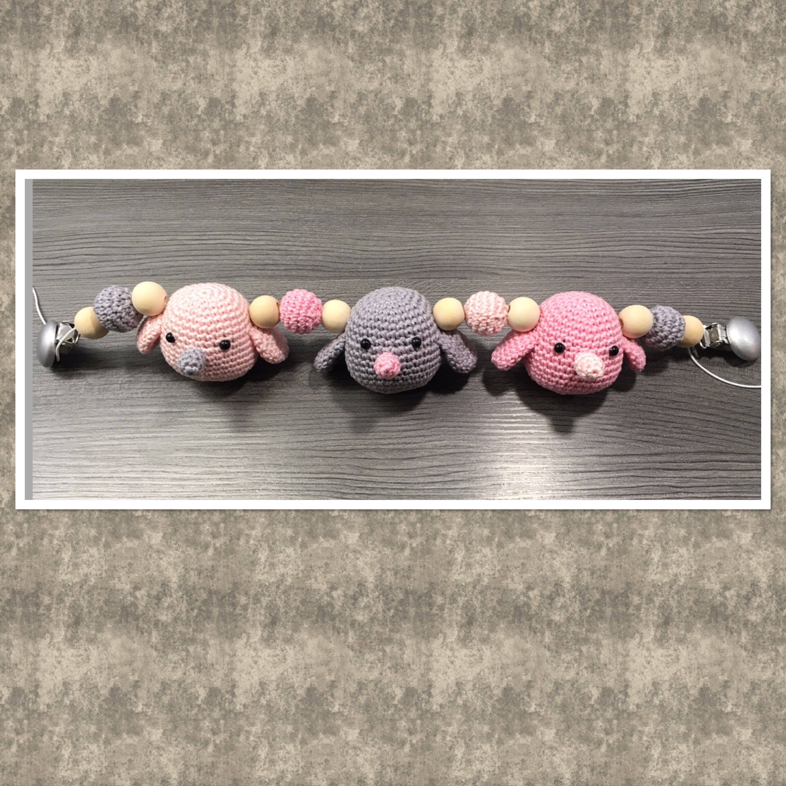Gehaakte Wagenspanner Met Vogeltjes Haken Voor Babys Pinterest