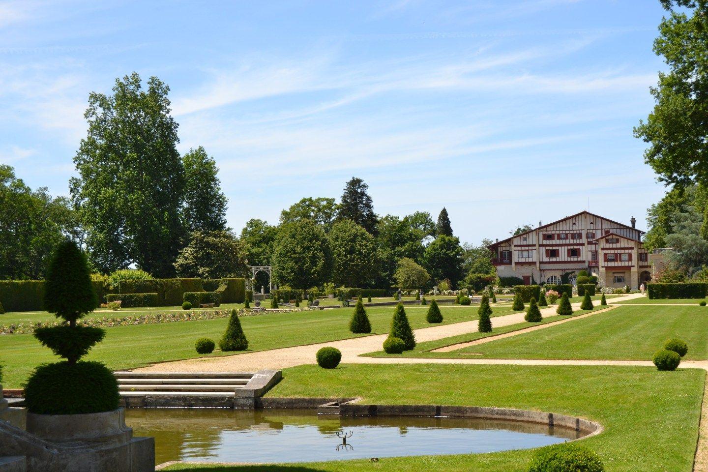 Les Jardins De La Villa Arnaga Musee Edmond Rostand A Cambo Les