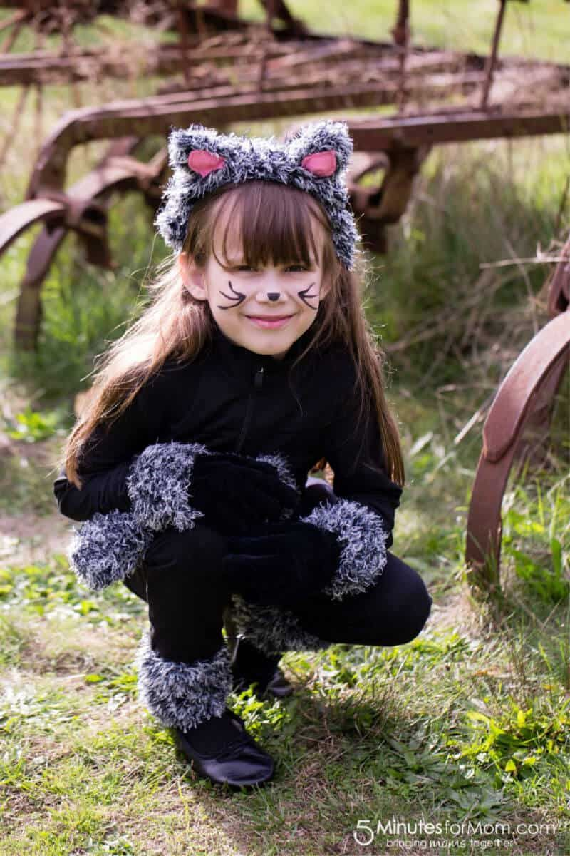 DIY Cat Costume for Kids Diy costumes kids, Cat costume