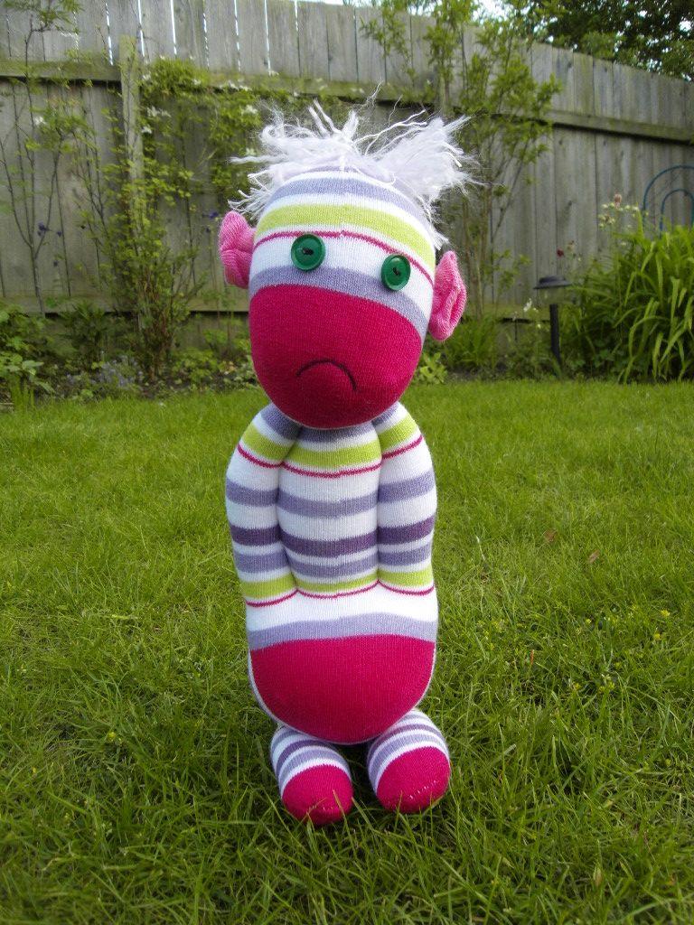 Sad Sockling monkey