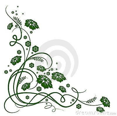 6eb62f0ed drawings of flowers leaves and vines   More similar stock images of ` Green  flower and vines pattern `