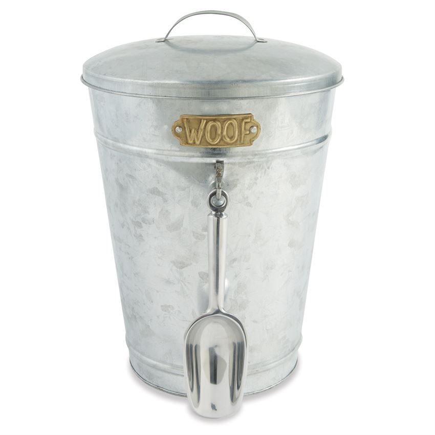 3 Piece Set Aluminum Storage Tub Features Gold Plated Metal Woof