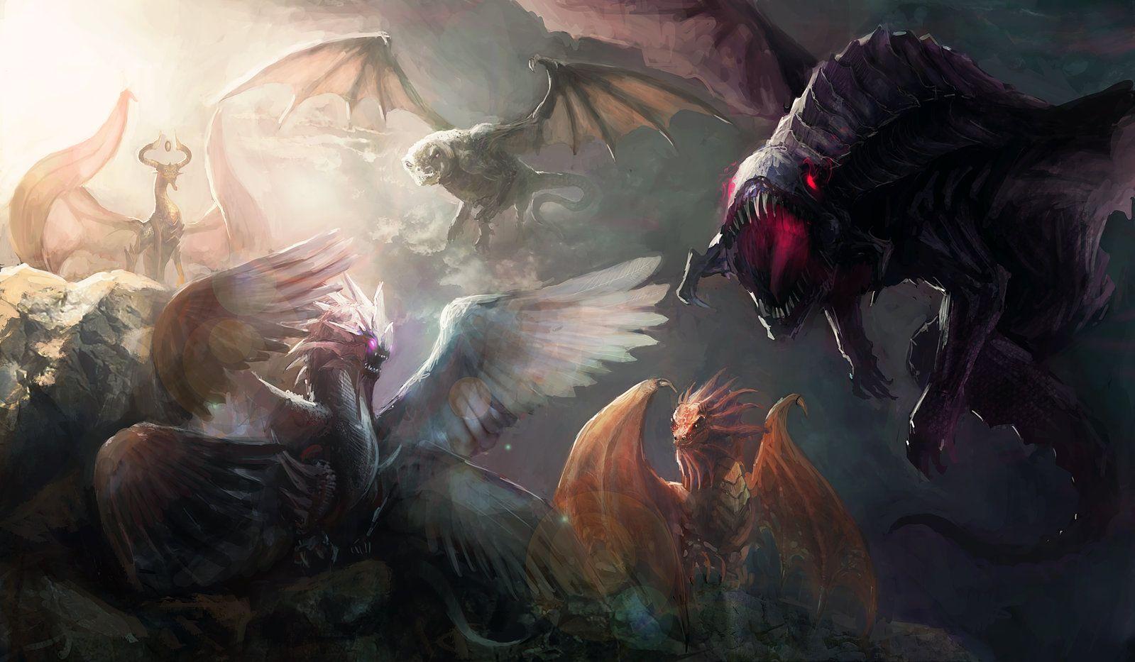 mtg_dragons_by_chevsy-d8wikc1.jpg (1599×933)