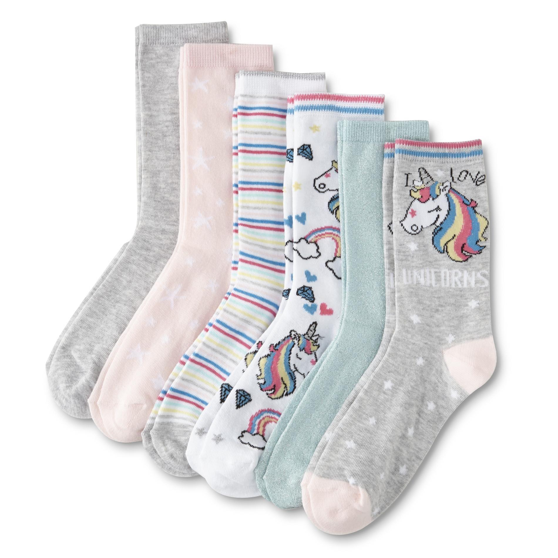 Ladies UK Size 4-6 - Multicoloured 5 Pairs Ladies High Performance Thermal Ski Socks EU 37-39