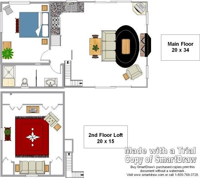 Michigan 20 x 34 1-1/2 story- New interior pics