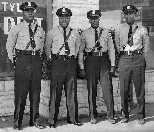 tyler texas historical photos | Tyler TX First Black Policemen