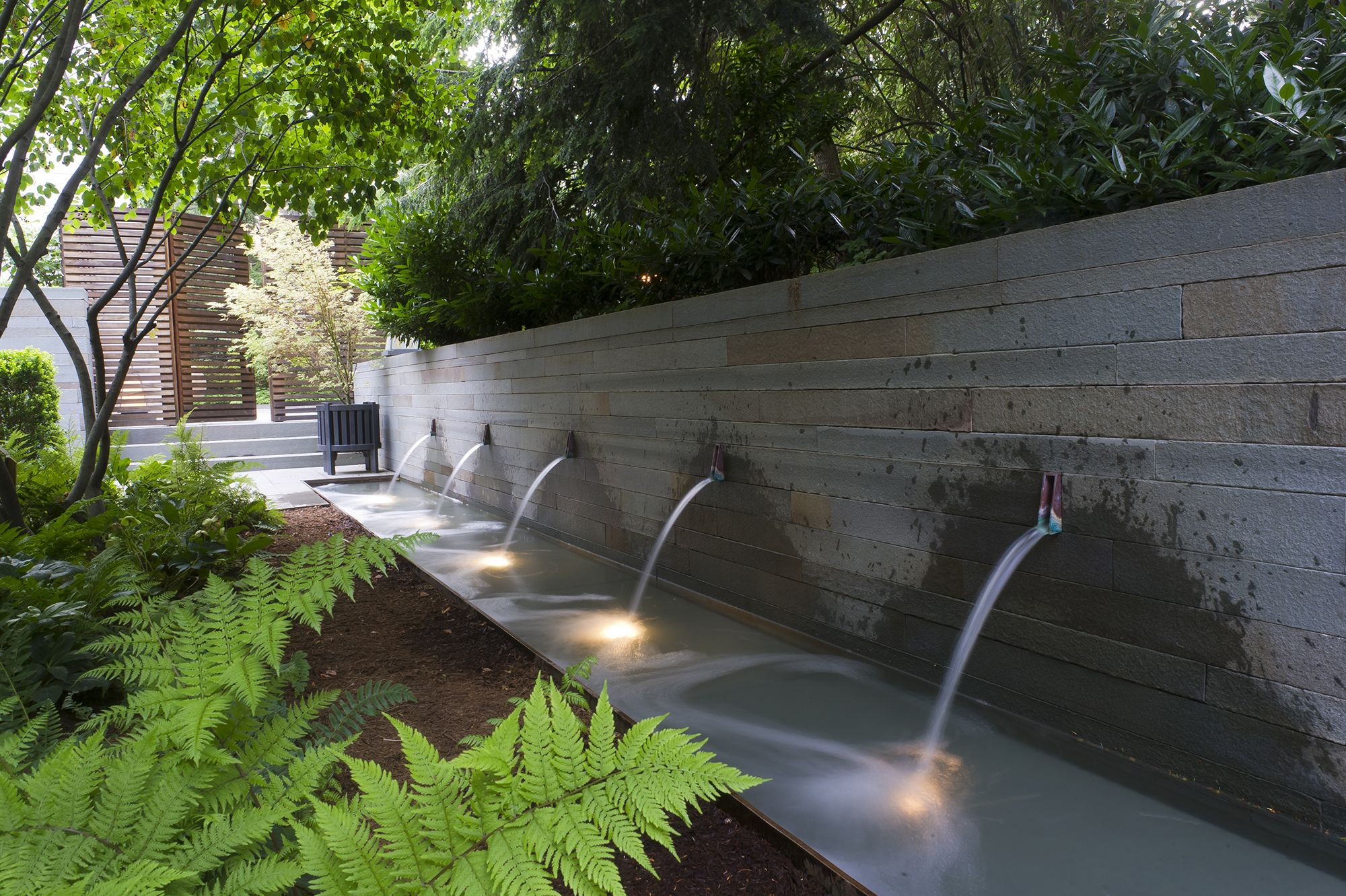 9 Woodland Residence Jpg Water Features In The Garden Outdoor