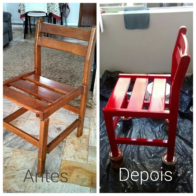 Reforma cadeira.
