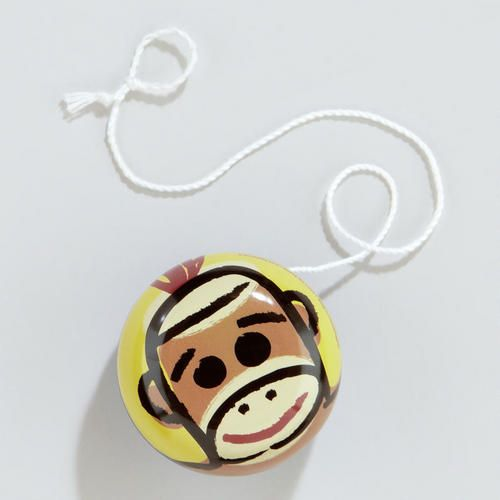 One of my favorite discoveries at WorldMarket.com: Sock Monkey Yoyo
