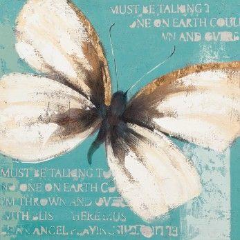 abstracte schilderijen vlinders