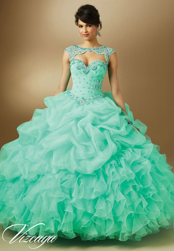morely quincenera dresses mint green - Google Search | Cecilia's ...