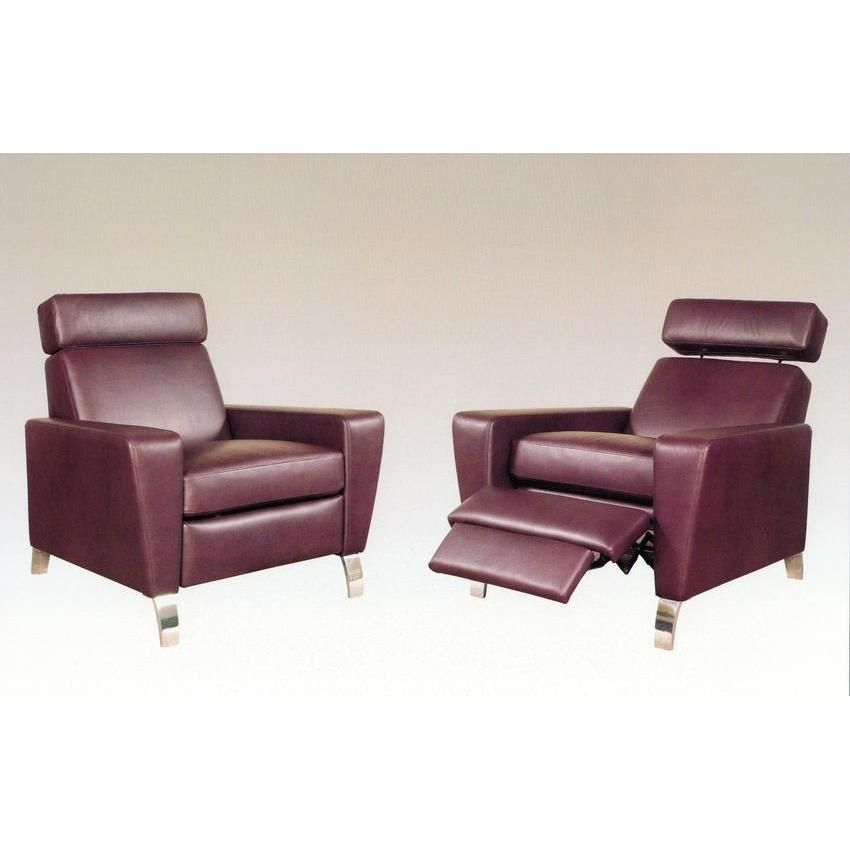 contemporary recliner chairs   Liam Modern Recliner Chair ...