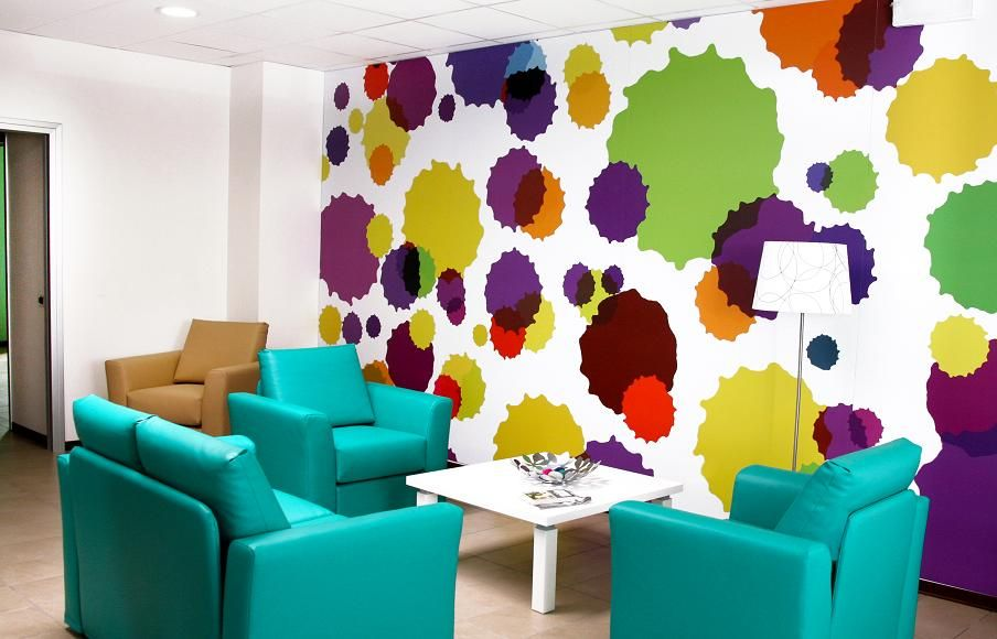 The Bright And Colorful New Ronald Mcdonald Family Room In
