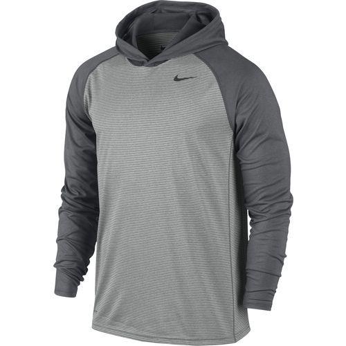f87b80f3 Academy.com Nike Men's Dri-FIT Touch Long Sleeve Hoodie | Buddy's ...