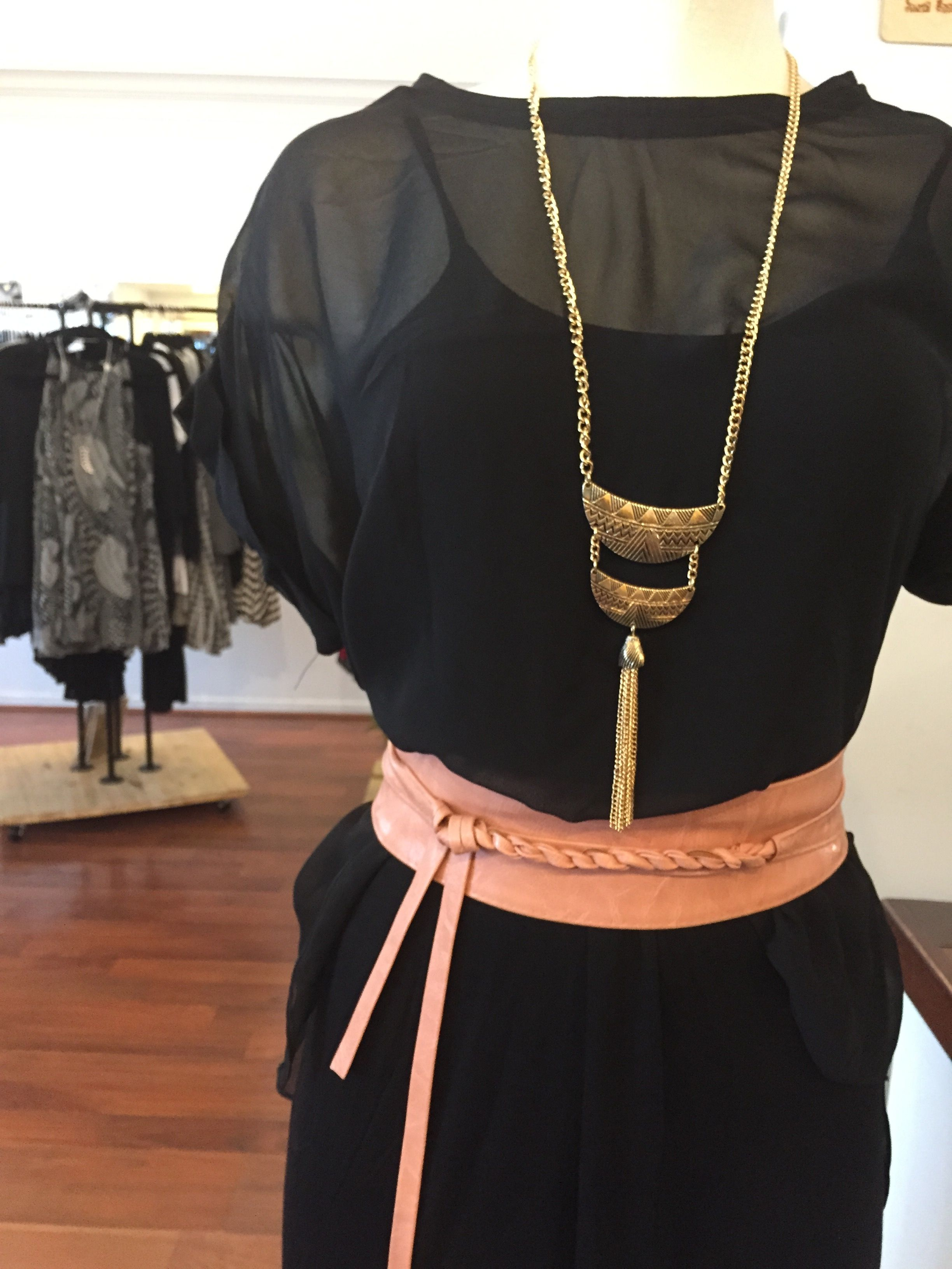 Liane the grecian twist short blush wrap the obi as you would