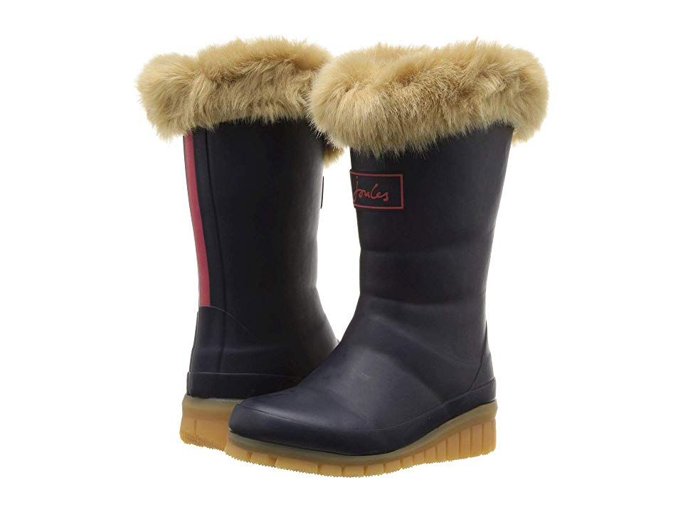 Joules Kids Downtown Tall Padded Winter Welly Boot (Toddler
